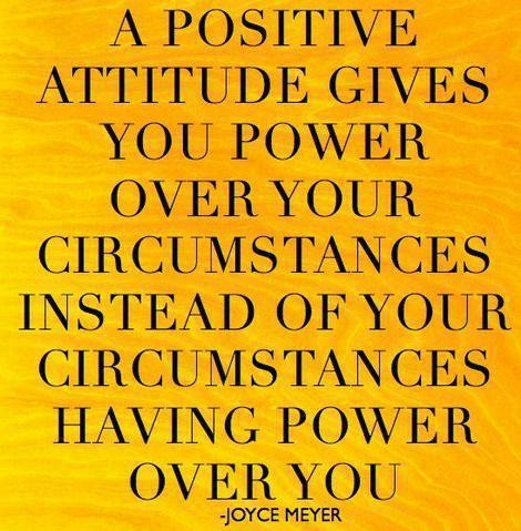 Positive-Attitude Power over circumstacnes